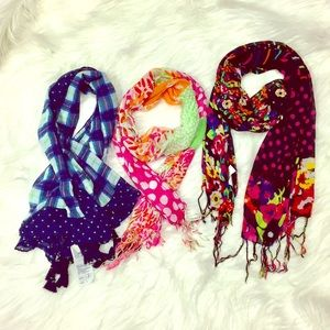 Girls scarves bundle